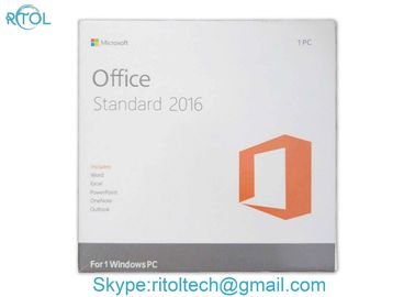 Pakiet detaliczny Microsoft Office Key Code 2016 Pro Standard DVD Key Card English Version