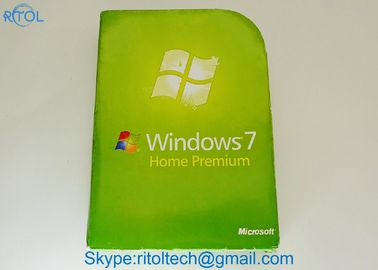 OEM Microsoft Windows 7 Home Premium, SP1 64-bitowy Windows 7 Professional Pełna wersja