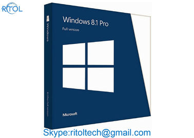32/64 bity Microsoft Windows 8.1 Professional Wersja detaliczna DVD Windows Pro Retail Box