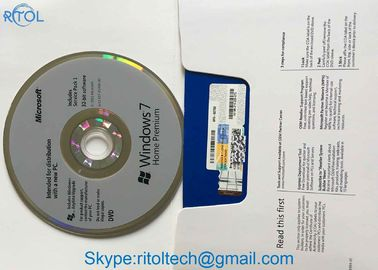 Aktywacja online Windows 7 Ultimate Dvd, Multi Language Original Windows 7 Professional License Key
